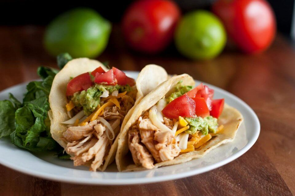 20Minute Ancho Chicken Tacos Recipe  Pinch of Yum